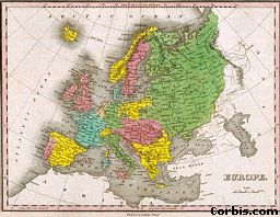 1826 Map of Europe