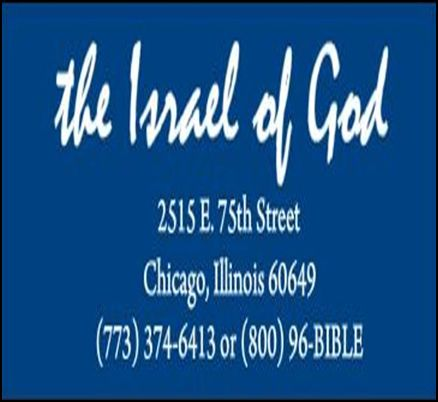 The Israel of God Bible Study Class
